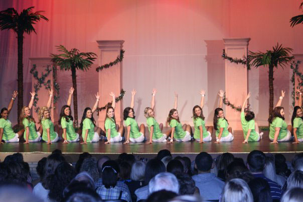 tropical palm tree high school hs pageant
