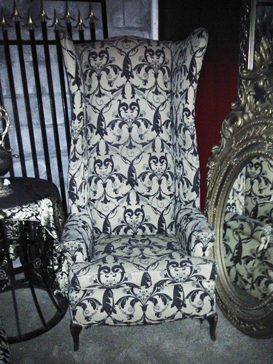 alice in wonderland chair highback mad hatter