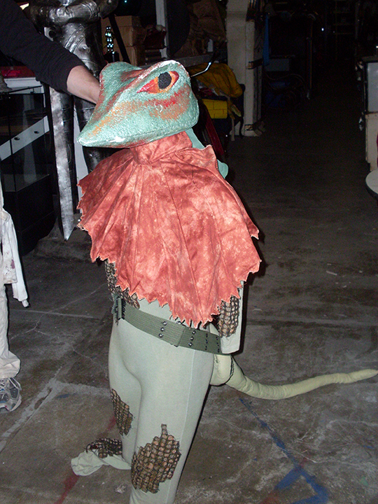 Children of Eden lizard costume