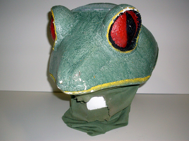 Children of Eden frog head green