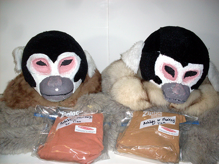 Children of Eden monkey pair costume