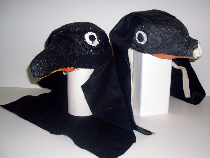Children of Eden penguin head