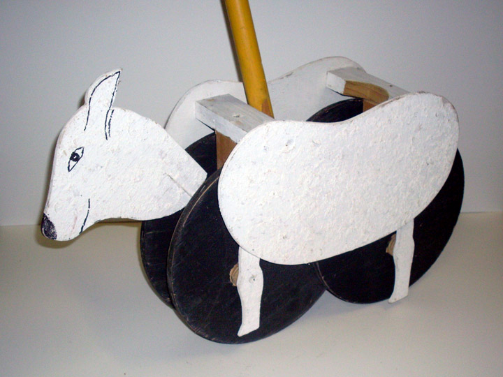Children of Eden sheep puppet