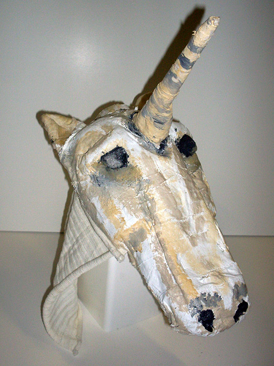 Children of Eden unicorn head