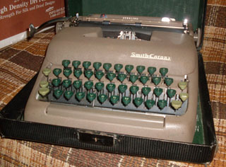 How to Succeed in Business Typewriter - Smith-Corona Sterling