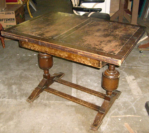 refractory table pride prejudice wood