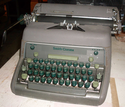Smith Corona typewriter manual Model 88