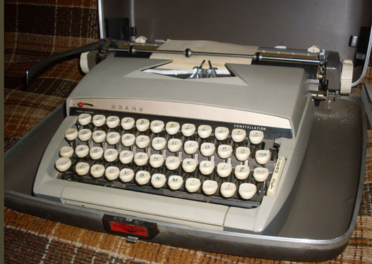 sears constellation typewriter1960