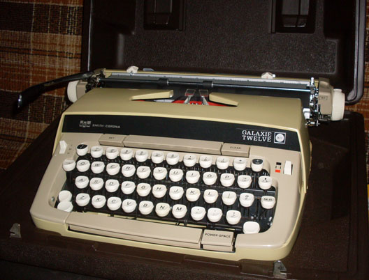 smith corona portable manual typewriter
