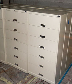 medical furniture File Cabinets 6 drawer lateral