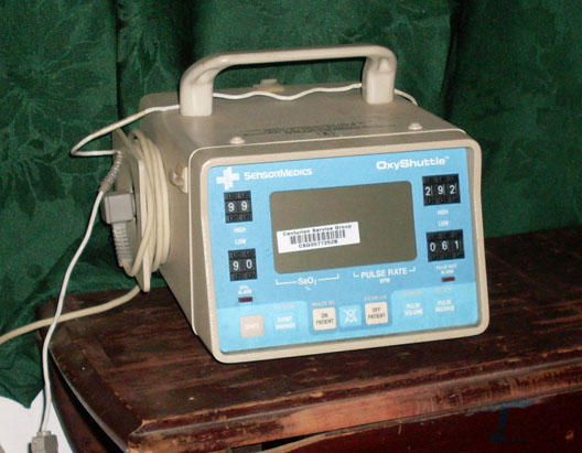 Medical SensorMedics Pulse Oximeter oxyshuttle machine