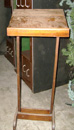 wood lectern primitive