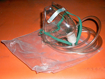 medical surgery mask tube plastic bag