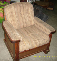light brown chair