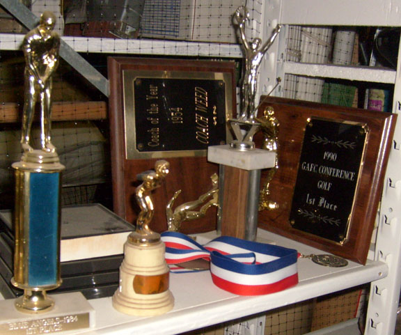 golf diving cheerleading trophies plaques medals