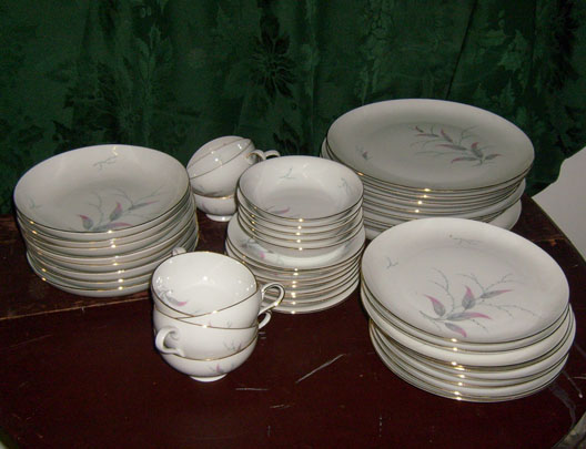 fine china dishware kitchen pride and prejudice plates cups saucers bowls