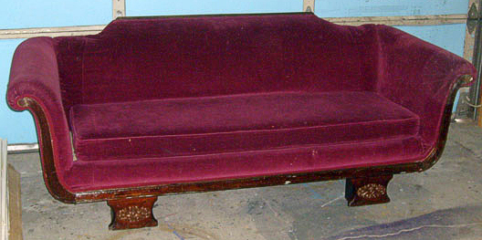 singin in the rain sofa r.f. maroon empire