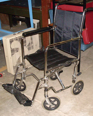 wheelchair modern black medical