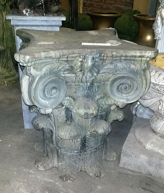 Pedestal Short Ornate Base Corinthian