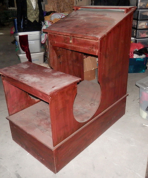 Bob Cratchitt Desk