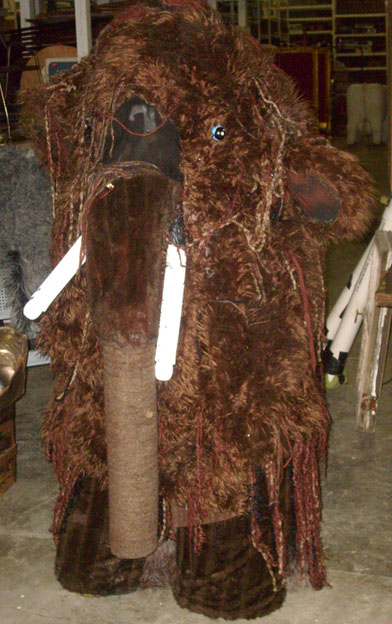 Children of Eden Wooly Mammoth costume