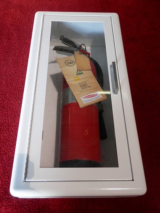 city street fire extinguisher cabinet