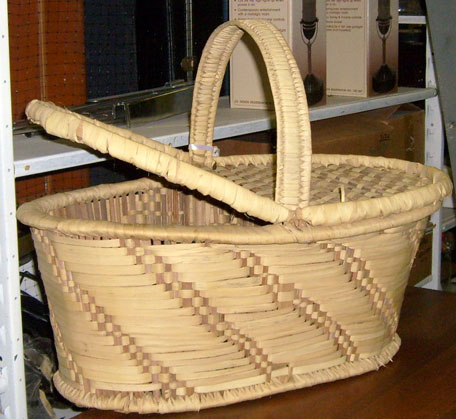 pajama game picnic basket wicker