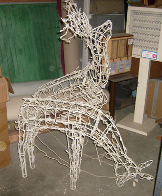reindeer christmas outdoor decoration decor lighted