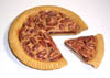 Pecan pie with separate slice